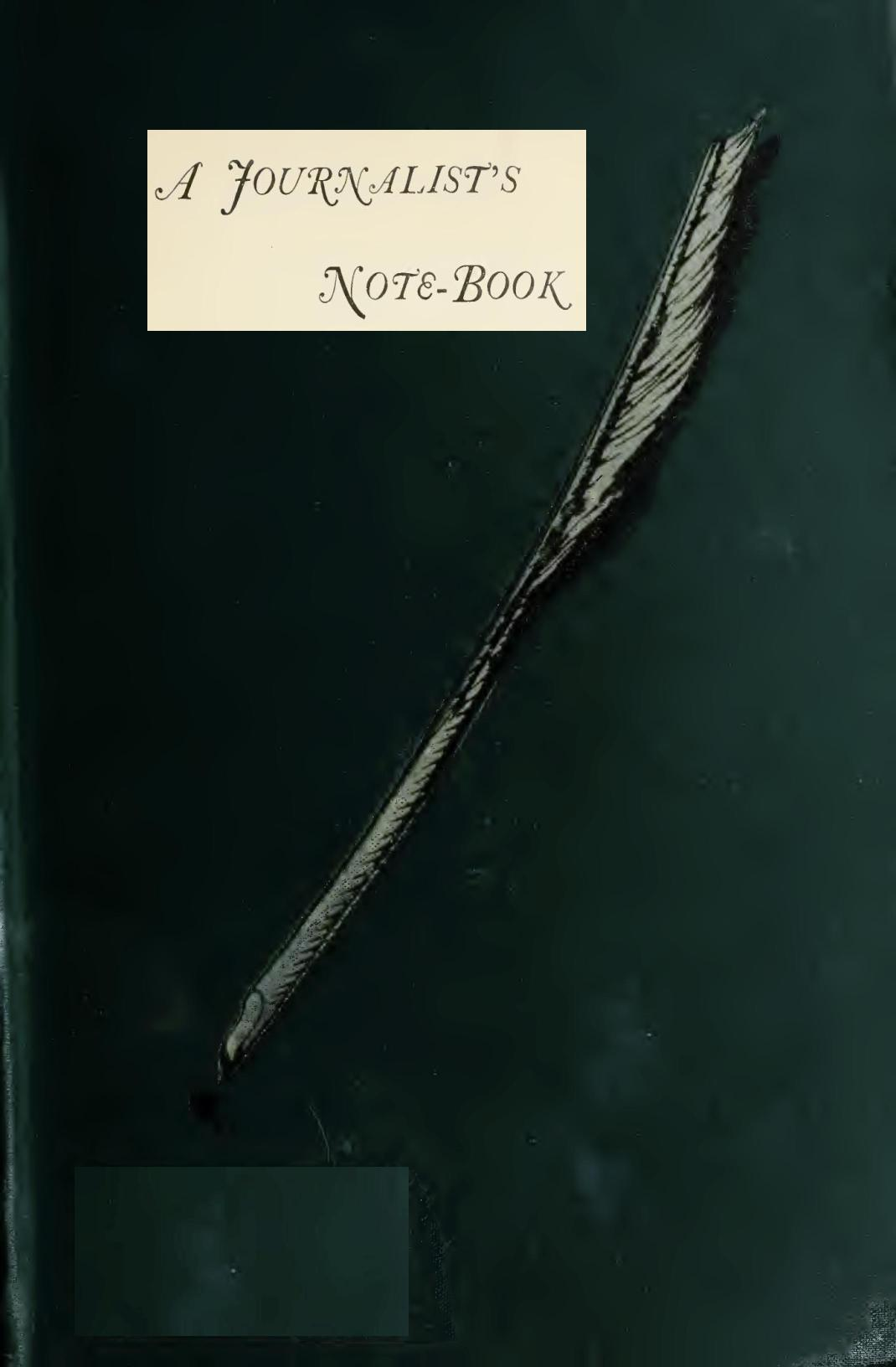 A journalists note book by frank frankfort moore 0001 fandeluxe Image collections