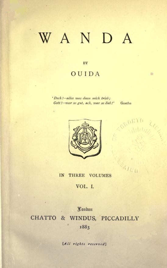 The project gutenberg ebook of wanda vol 1 by ouida of this project gutenberg ebook wanda vol 1 of 3 produced by wanda lee laura natal rodriguez and marc dhooghe at httpfreeliterature fandeluxe Gallery