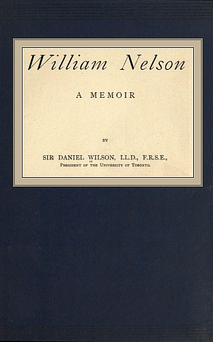 The Project Gutenberg eBook of William Nelson , by Sir