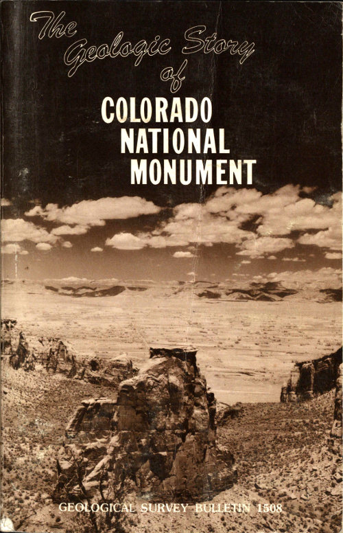 The geologic story of colorado national monument by s w lohman a the geologic story of colorado national monument fandeluxe Choice Image