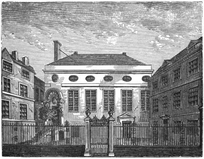 Stationers Hall Near Paternoster Row