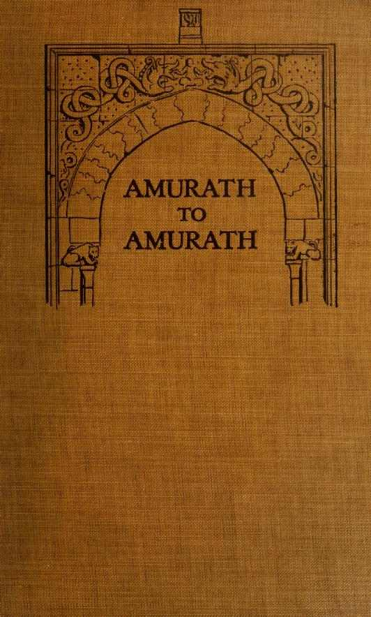 The project gutenberg ebook of amurath to amurath by gertrude cover fandeluxe Images
