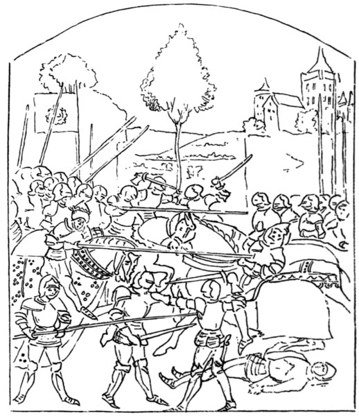 Battle Of Barnet From A M S At Ghent