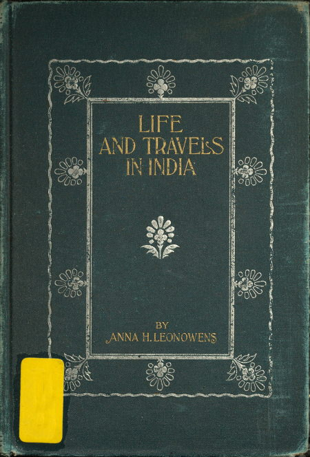 The project gutenberg ebook of life and travel in india by anna cover fandeluxe Gallery