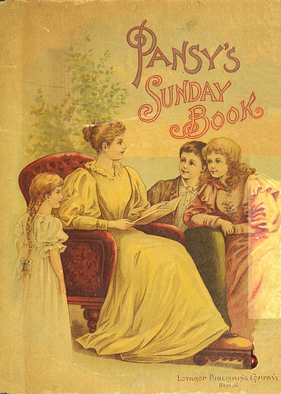 The project gutenberg ebook of pansys sunday book by famous cover fandeluxe Images