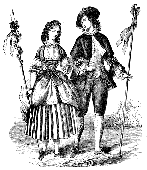 The Project Gutenberg Ebook Of The Corset And The Crinoline By