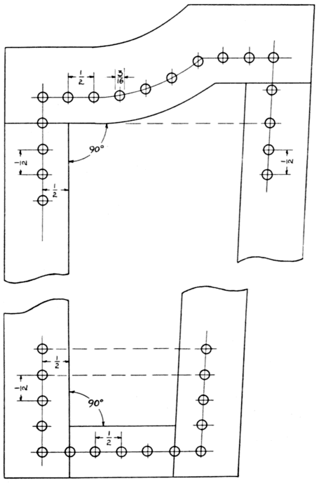 The project gutenberg ebook of seat weaving by l day perry method of locating holes on wing of chair fandeluxe Choice Image
