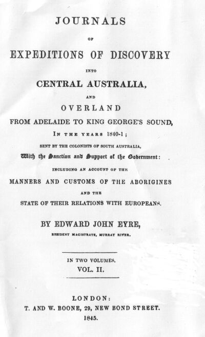 Journals of expeditions of discovery into central australia volume 2 journals of expeditions of discovery into central australia and overland from adelaide to king georges sound in the years 1840 1 sent by the colonists of fandeluxe Gallery