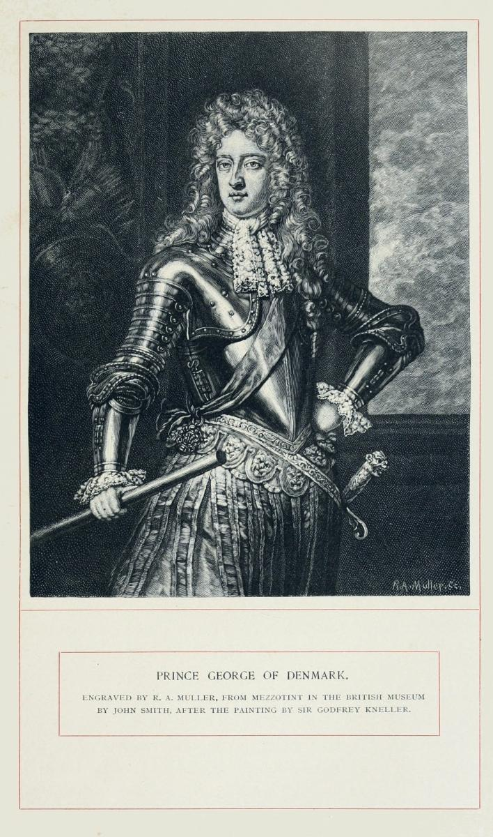 The project gutenberg ebook of historical characters of the reign image unavailable prince george of denmark engraved by r a muller from mezzotint in fandeluxe Choice Image
