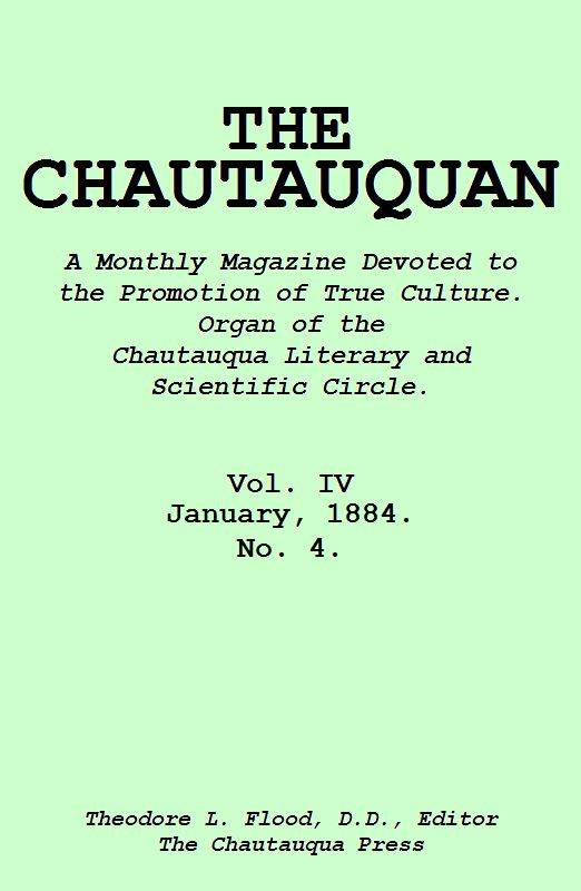 Incredible The Project Gutenberg Ebook Of The Chautauquan January 1884 Onthecornerstone Fun Painted Chair Ideas Images Onthecornerstoneorg