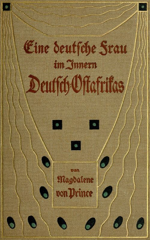 The Project Gutenberg eBook of Eine deutsche Frau im Innern