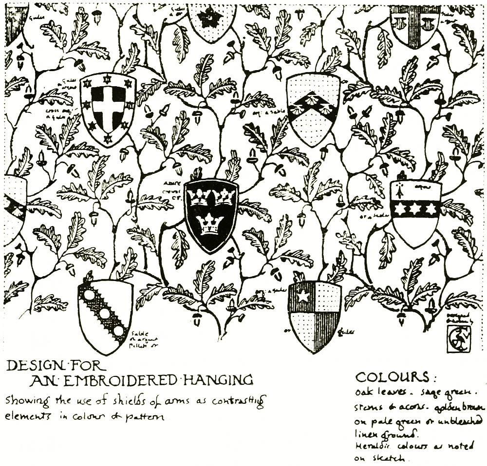 The project gutenberg ebook of william morris to whistler by design for an embroidered hanging buycottarizona