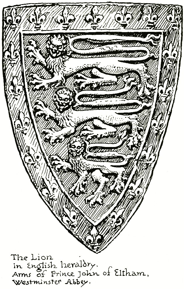 The Lion In English Heraldry