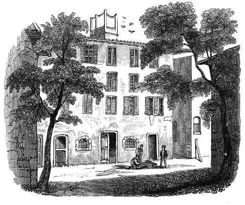 HOUSE IN WHICH NAPOLEON WAS BORN,