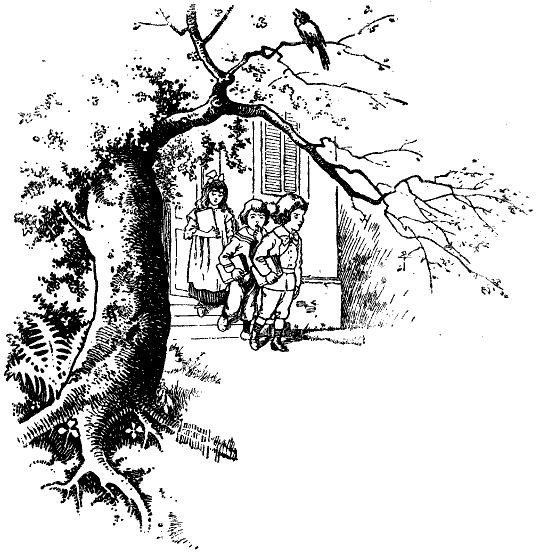Aber, Du Liebe Zeit! Schon Nach Wenigen Minuten Sank Dem Kleinsten Die  Hand, Die Das Buch Hielt. Er Trieb Seine Bäckchen Zu Kleinen Rosigen  Äpfelchen Auf ...