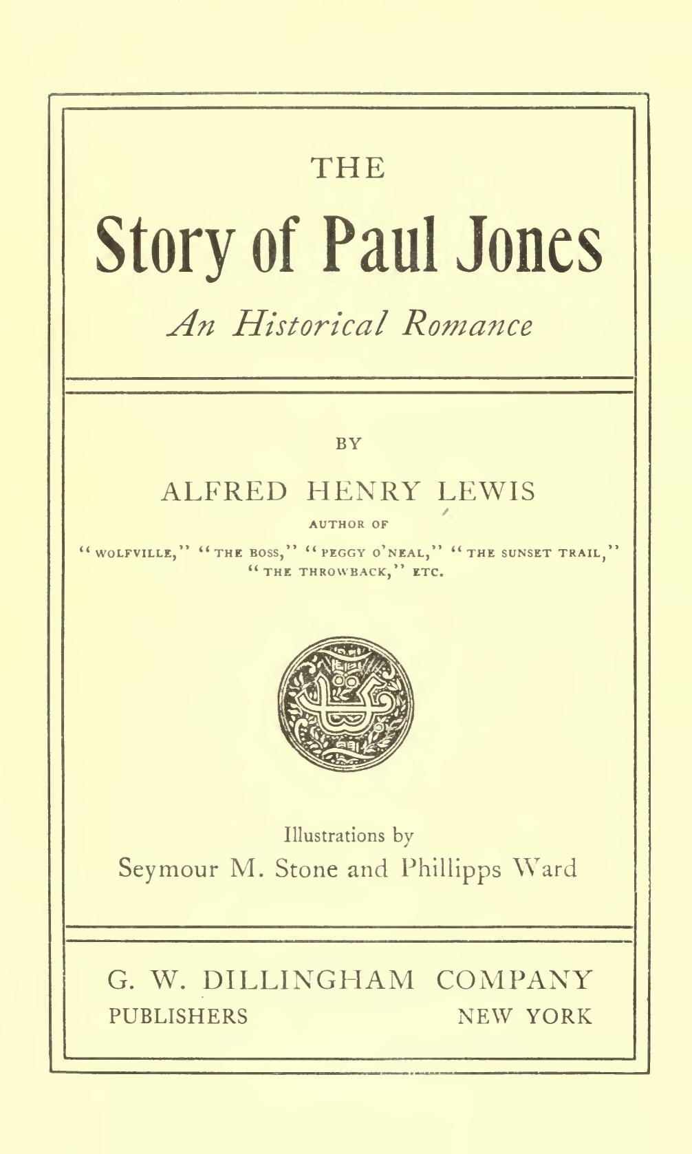 The Story of Paul Jones fbe659be11e9