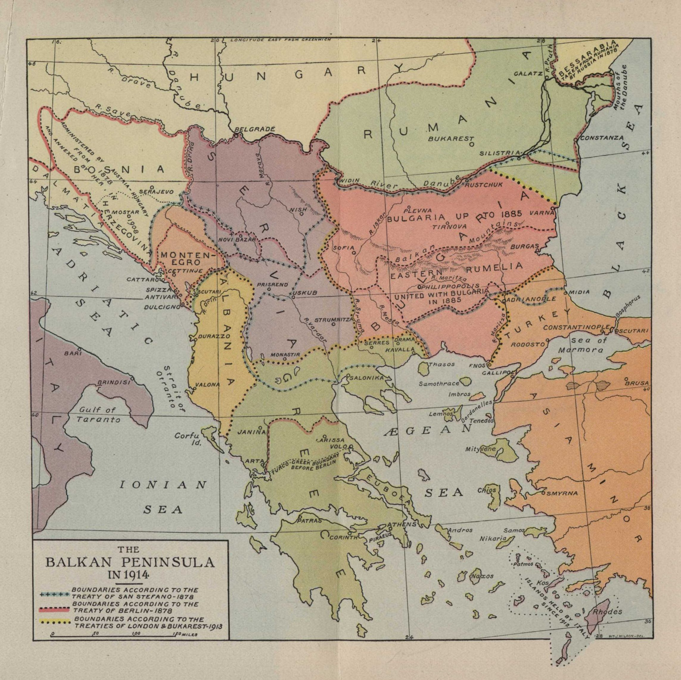 The Project Gutenberg Etext of The New Map of Europe 19111914