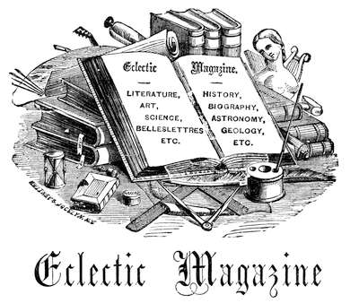 The project gutenberg ebook of eclectic magazine of foreign masthead fandeluxe Choice Image