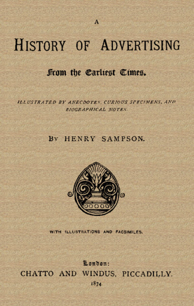 The project gutenberg ebook of a history of advertising by henry history of advertising fandeluxe Image collections