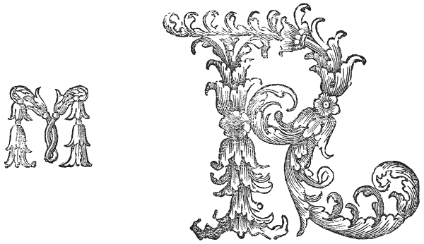 Blooming Initials At The Oxford University Press
