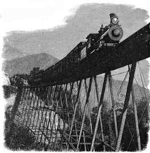 The Project Gutenberg eBook of The American Railway, by