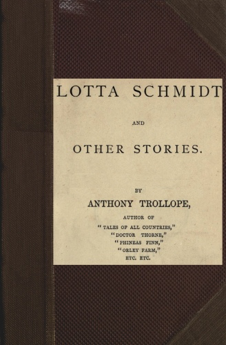 The Project Gutenberg Ebook Of Lotta Schmidt And Other Stories By