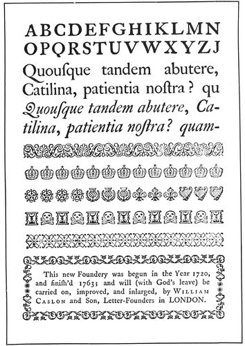 The project gutenberg ebook of the art practice of typography by caslon types and ornaments fandeluxe Image collections