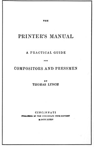 The project gutenberg ebook of the art practice of typography by title page of 1872 fandeluxe Images