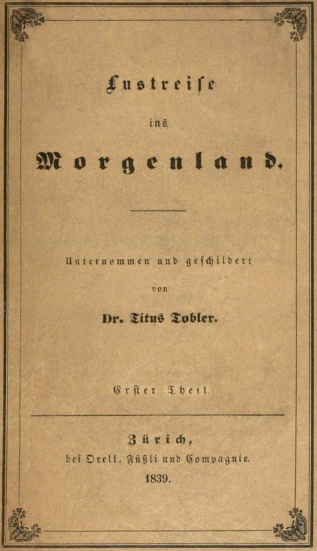 The Project Gutenberg eBook of Lustreise ins Morgenland, Erster ...