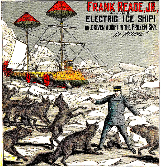The Project Gutenberg Ebook Of Frank Reade Jr And His Electric