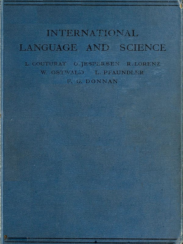 The Project Gutenberg EBook Of International Language And