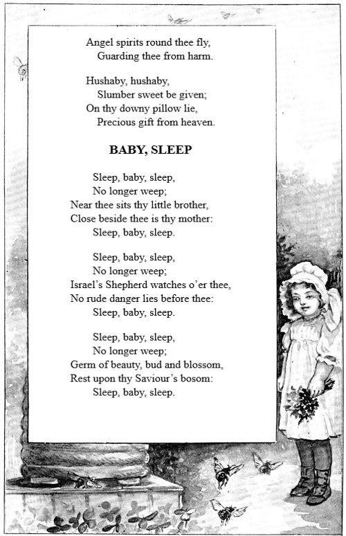The project gutenberg ebook of songs for the little ones at home by babysleep fandeluxe Choice Image