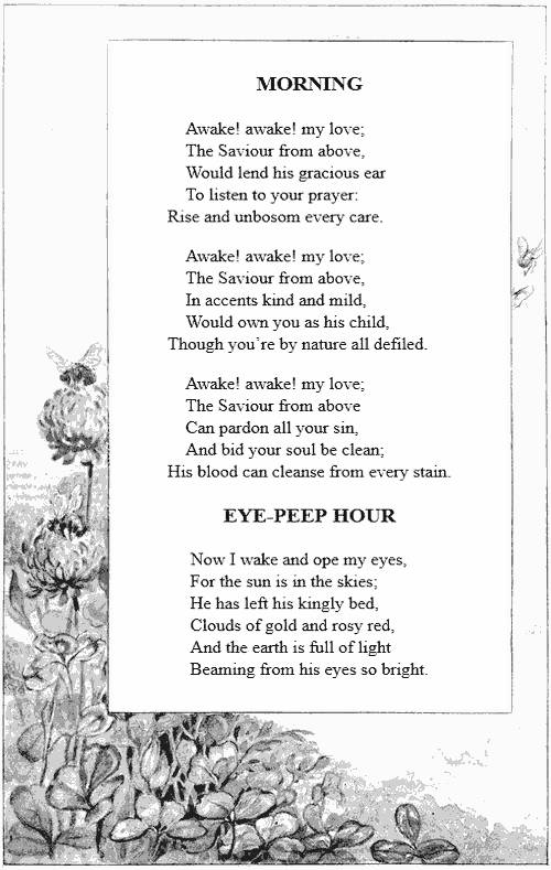 The project gutenberg ebook of songs for the little ones at home by eye peep hour fandeluxe Gallery
