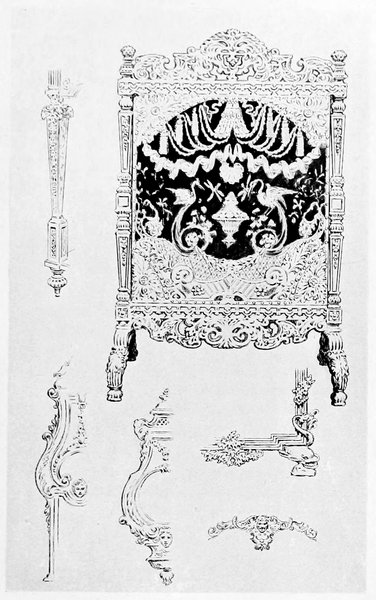 Astounding The Project Gutenberg Ebook Of French And English Furniture Beatyapartments Chair Design Images Beatyapartmentscom