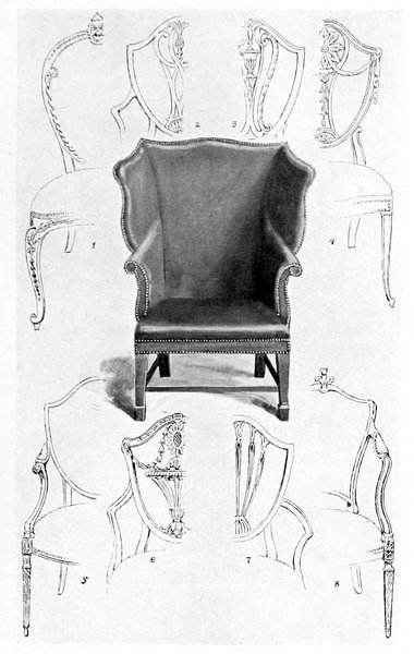 Super The Project Gutenberg Ebook Of French And English Furniture Beatyapartments Chair Design Images Beatyapartmentscom