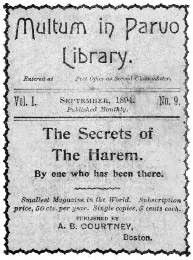 The project gutenberg ebook of the secrets of the harem by one who cover and title page fandeluxe Images