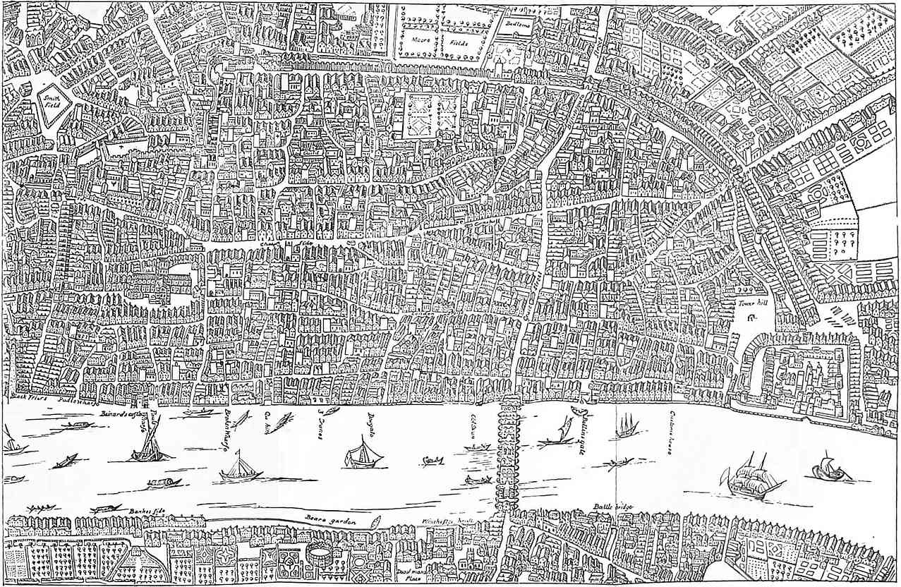 The project gutenberg ebook of london ancient and moodern from the a larger version of this map is available at project gutenberg fandeluxe Choice Image