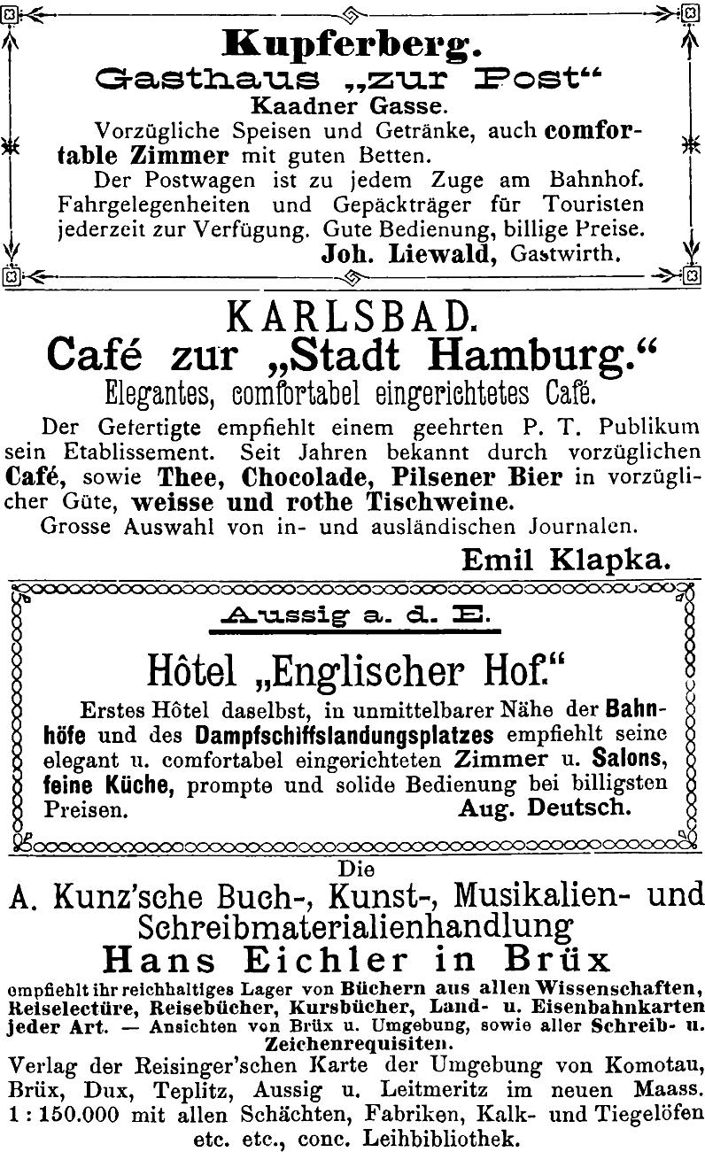 The Project Gutenberg eBook of Führer durch das böhmische Erzgebirge ...