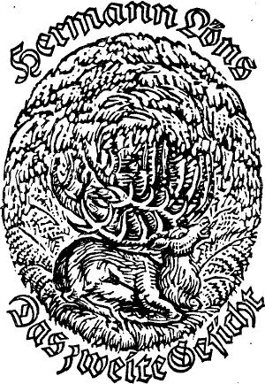 The Project Gutenberg eBook of Das zweite Gesicht, by Hermann Löns.