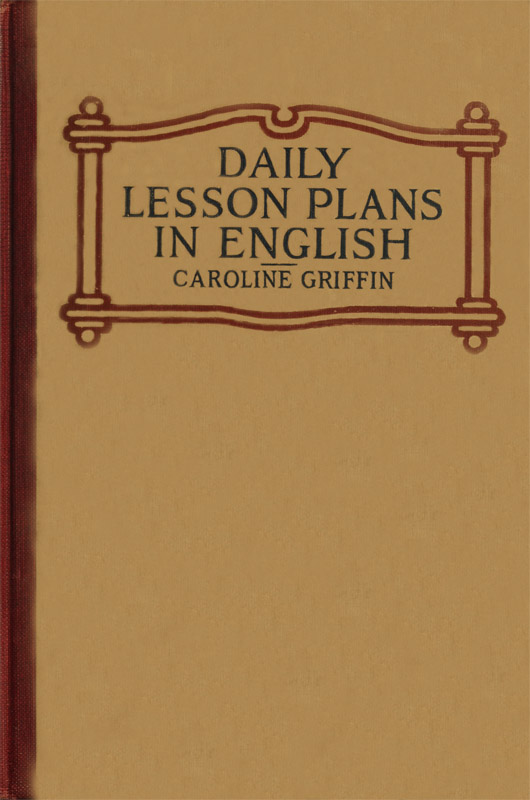 Daily lesson plans in english by caroline griffina project lesson plans in english fandeluxe Image collections