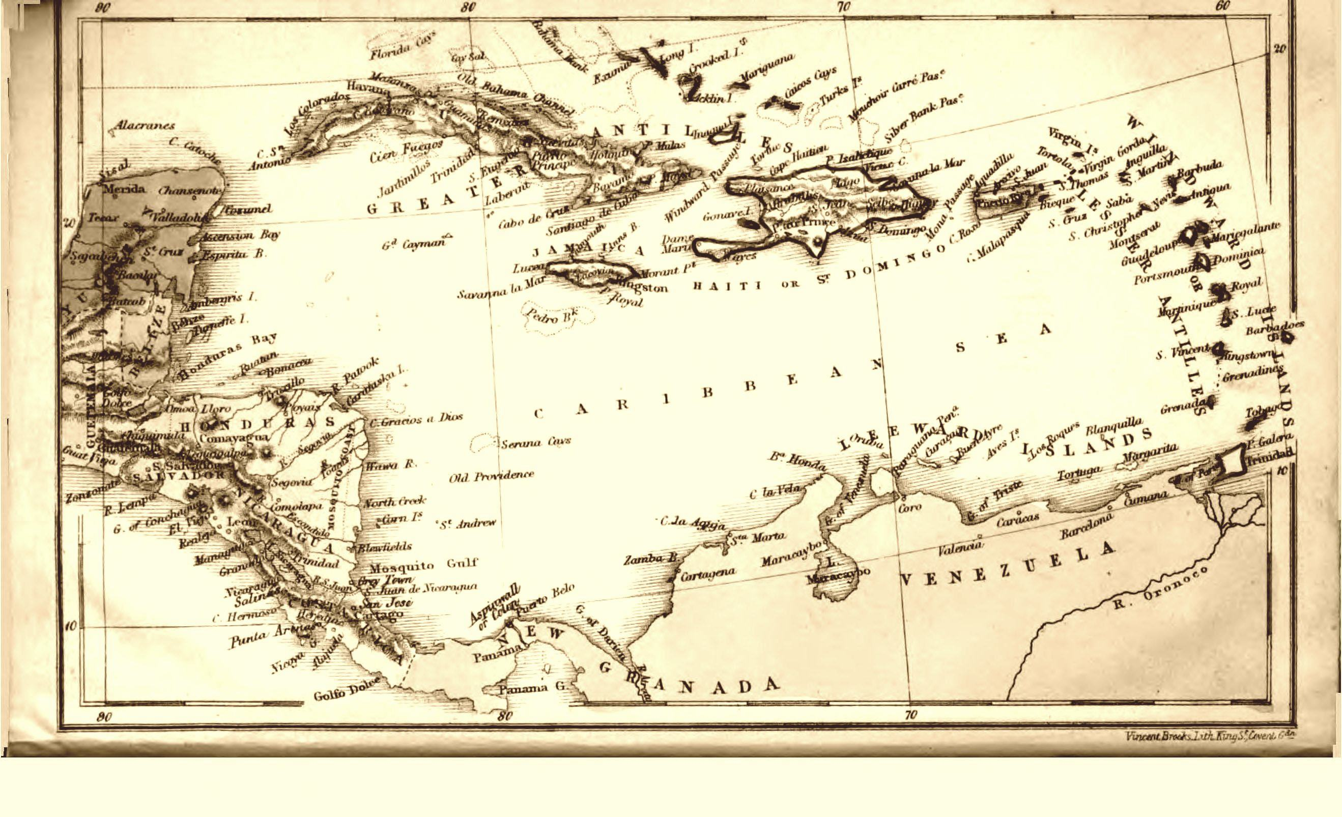 The project gutenberg ebook of the west indies and the spanish main the west indies gumiabroncs Images