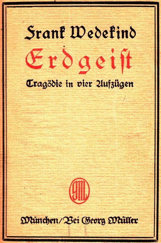 The Project Gutenberg eBook of Erdgeist, by Frank Wedekind