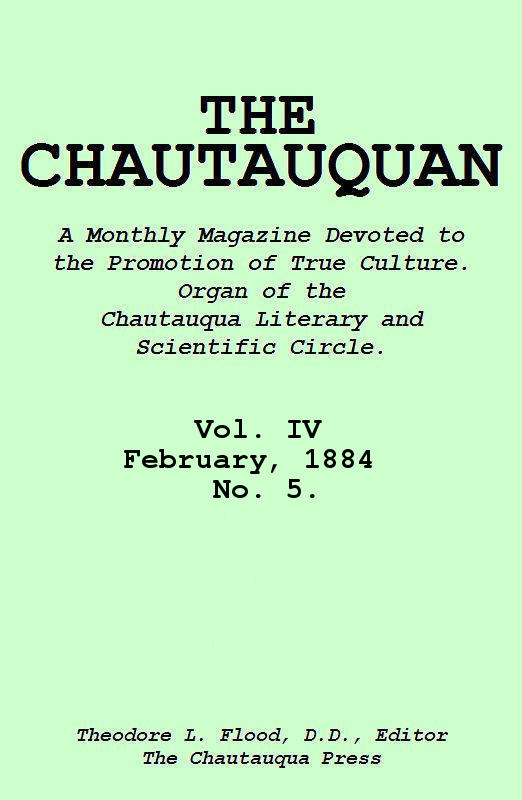 The Project Gutenberg Ebook Of The Chautauquan Vol Iv February