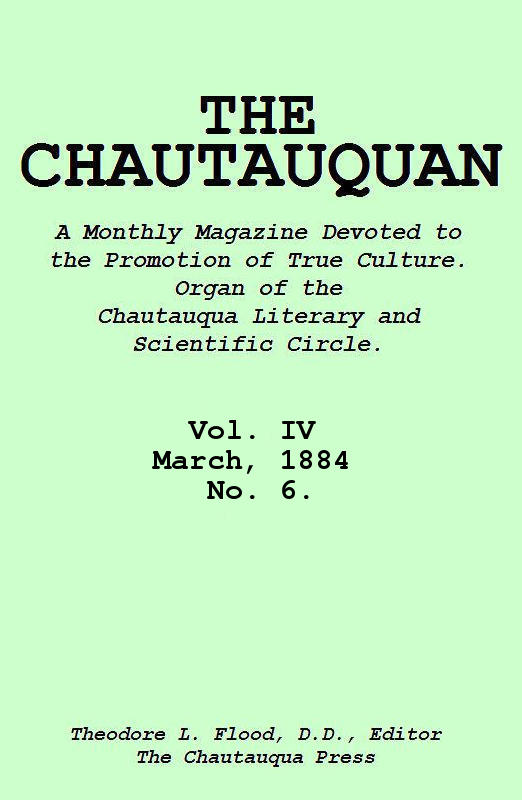 The project gutenberg ebook of the chautauquan vol iv march 1884 cover fandeluxe Choice Image