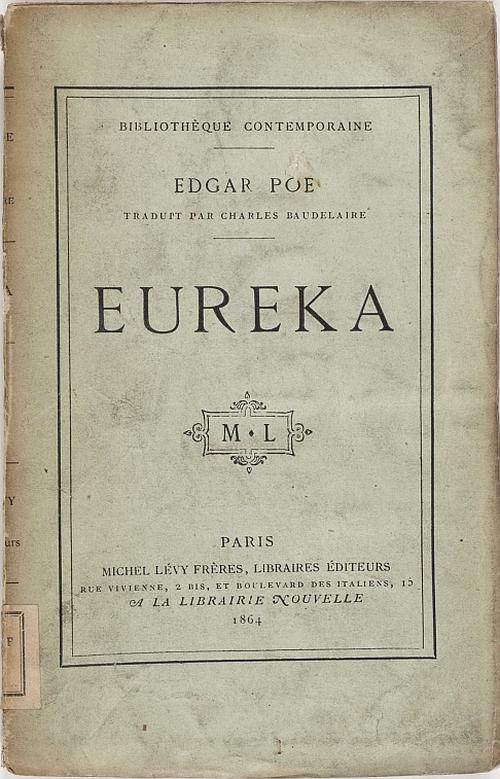 The Project Gutenberg Ebook Of Eureka By Edgar Allan Poe