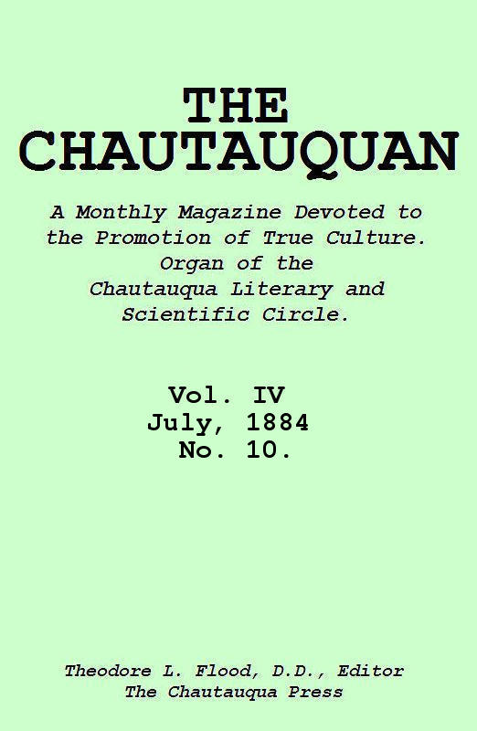 The Project Gutenberg eBook of The Chautauquan, Vol. IV, July 1884 on