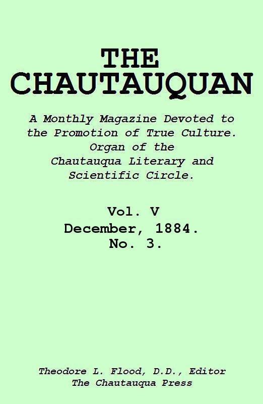 The project gutenberg ebook of the chautauquan vol v december cover fandeluxe Images