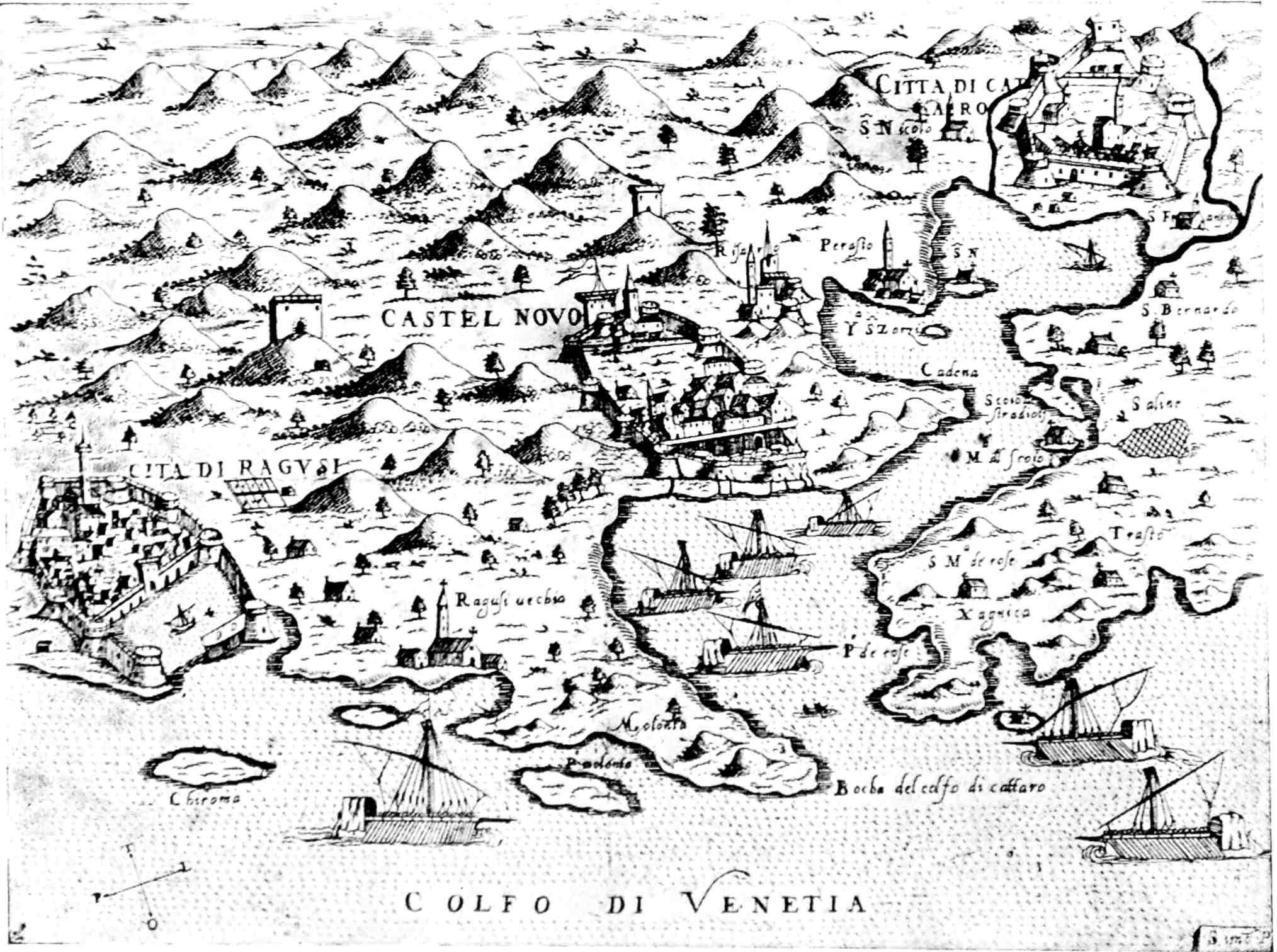 The project gutenberg ebook of the republic of ragusa by luigi villari birds eye view of ragusa and the neighbourhood fandeluxe Image collections