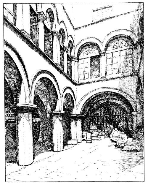 The project gutenberg ebook of the republic of ragusa by luigi courtyard of the sponza custom house fandeluxe Image collections