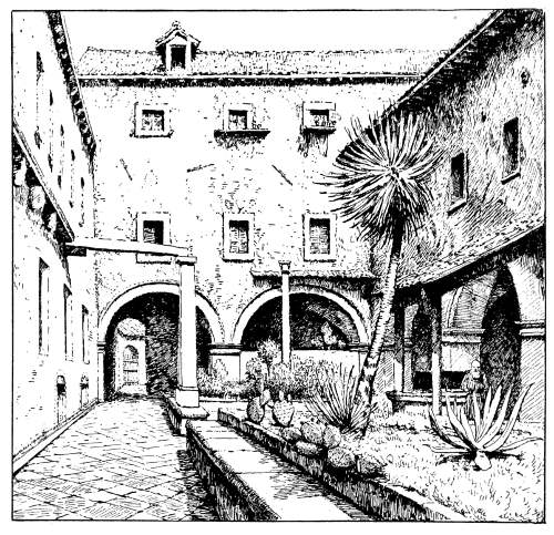 The project gutenberg ebook of the republic of ragusa by luigi apothecarys garden franciscan monastery fandeluxe Image collections